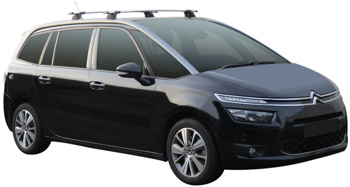 Bagażnik dachowy Whispbar Through Citroen C4 Grand Picasso II 2013-