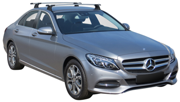 Bagażnik dachowy Whispbar Through Mercedes C-klasa W205 2014-