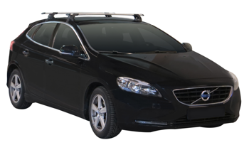 Bagażnik dachowy Whispbar Through Volvo V40 II 5d 2012-