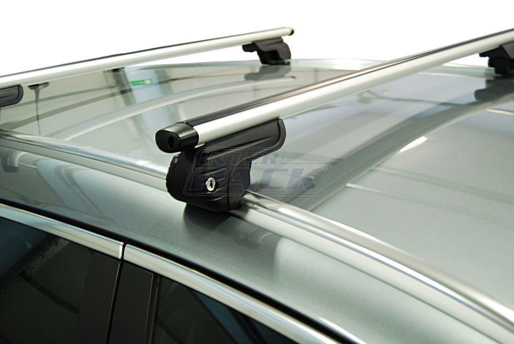 bagażnik dachowy aluminiowy mont blanc amc 5414-a49 na relingi